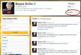 grillo twitter