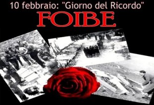 10 Febbraio Giorno del Ricordo Foibe
