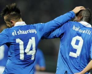 Stephan El Shaarawy Mario Balotelli