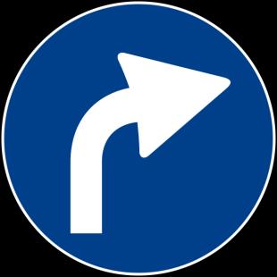 a destra
