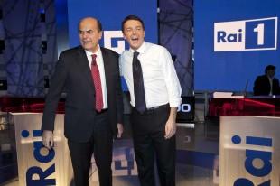 RAI - Confronto Bersani - Renzi