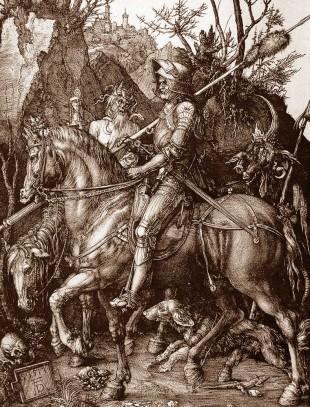 durer il cavaliere, la morte e il diavolo