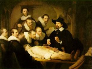 La lezione di anatomia del dottor Tulp_Rembrandt