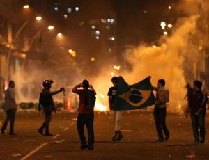 proteste in Brasile1