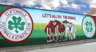 Cliftonville-Celtic Mural