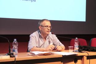 Il giornalista e scrittore Pietro Comelli