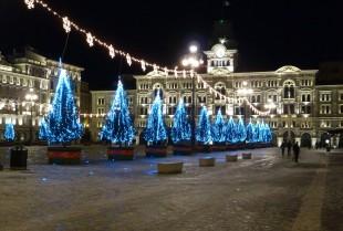 Lasorte Trieste 18/12/10 - Piazza Unità ghiacciata
