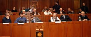 Il tavolo dei relatori (Tutte le foto di questo servizio sono di Franco Cavassi)