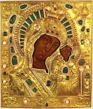 icona greco ortodossa della Madonna di Kazan
