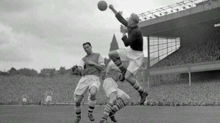 arsenal mc city Highbury 1950