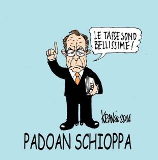 Politica. Il dopo Renzi: arriva a Palazzo Chigi il lattaio Padoan?