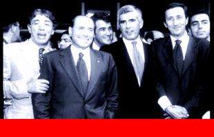Bossi Fini Casini Berlusconi