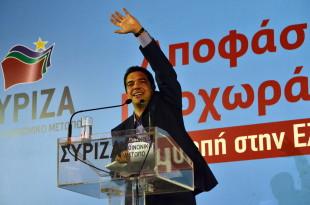 Il leader di Syriza Alexis Tsipras