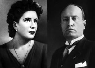 Claretta Petacci e Benito Mussolini