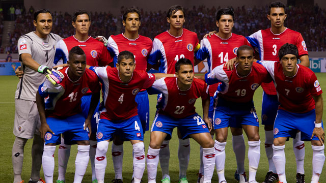 Costa Rica's national football team