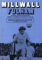 Millwall Fulham