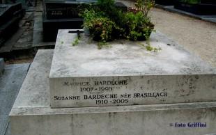 La tomba di Maurice Bardeche e Susanna Brasillach