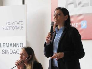Barbara Saltamartini, ex alemanniana di ferro