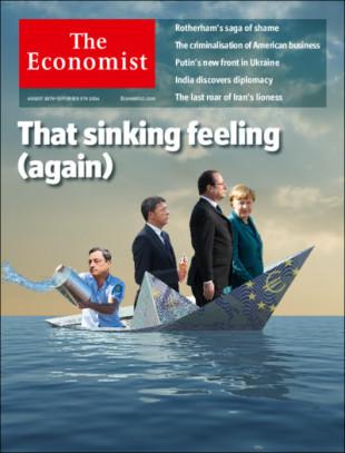 Economist. L'Europa affonda e Renzi mangia un gelato