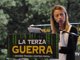 """PARTITI, MELONI LANCIA """"OFFICINA PER L'ITALIA"""" PER NUOVO CENTRODESTRA -FOTO 6"""