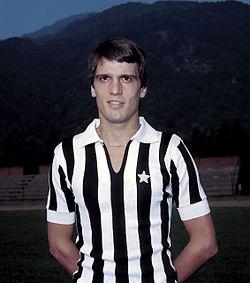 In Serie A con la Juventus per 10 anni, fra il 1975 e il 1985, con ben 259 presenze.