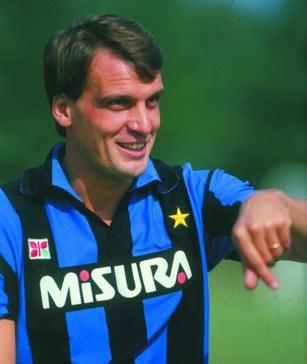 L'ultima esperienza di alto livello è l'Inter, dall'85 all'88