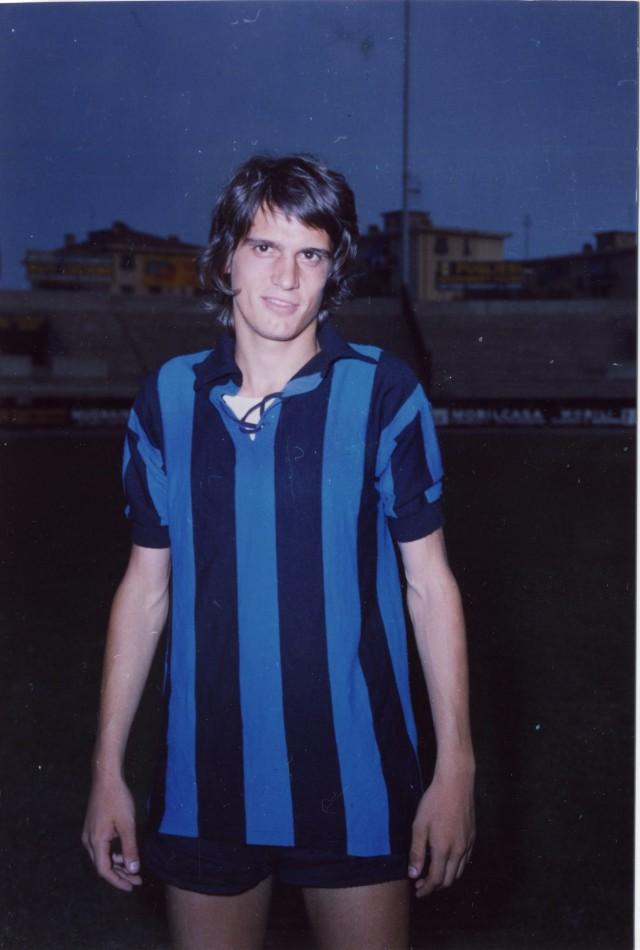 Tardelli al Pisa dal 1972 al 1974