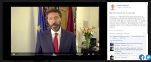 Screenshot del video di Ignazio Marino sulle multe