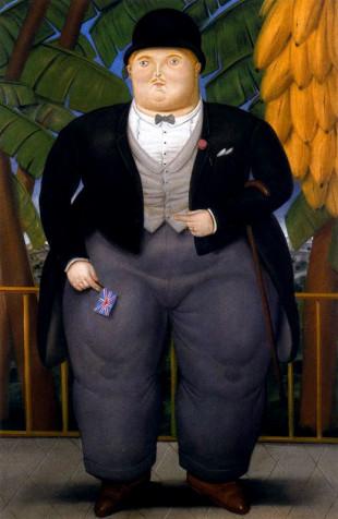 Ambasciatore inglese visto da Botero