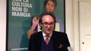 Luigi Mascheroni redattore de Il Giornale, settore cultura