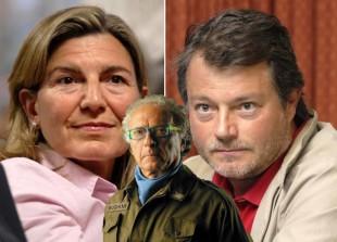 Francesca Mambro e Valerio Fioravanti, in basso Giampiero Mughini