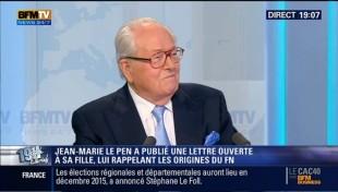 Jean-Marie Le Pen, presidente onorario del Fn