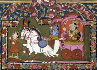 Krishna Arjun chariot