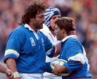 RUGBY-WC99-ENG-ITA-DOMINGUEZ-GIOVANELLI