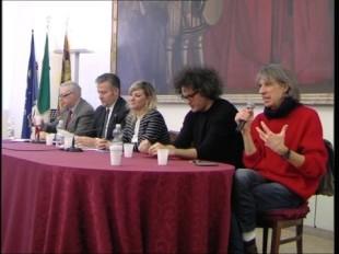 Da destra Antonello Belluco e Simone Cristicchi