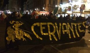 Una manifestazione a Catania del Cervantes
