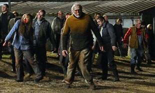 Zombie in una pellicola di Romero