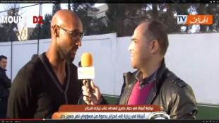 Anelka ai microfoni di una tv algerina