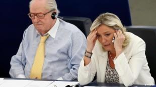 Jean-Marie e Marine Le Pen