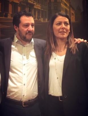 Matteo Salvini e Barbara Saltamartini da FB