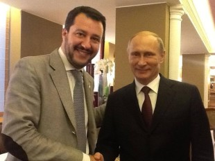 Focus (diA.Negri). Salvini, Putin e la non opposizione italiana alle sanzioni Ue contro la Russia