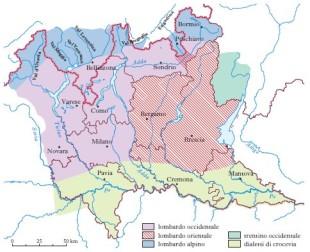 Dialetti lombardi (Treccani)