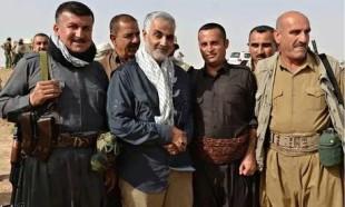 Il generale iraniano Qassem Suleimani. Secondo il Guardian è lui che ha organizzato il peshmerga kurdi che hanno respinto Isis