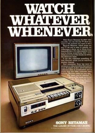 Scintill&Digitali. Sony pensiona le Betamax archiviando un pezzo di storia