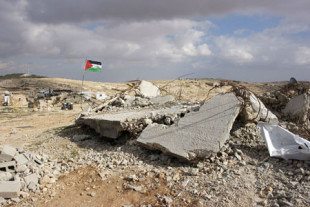 Le rovine di Gaza, in Palestina