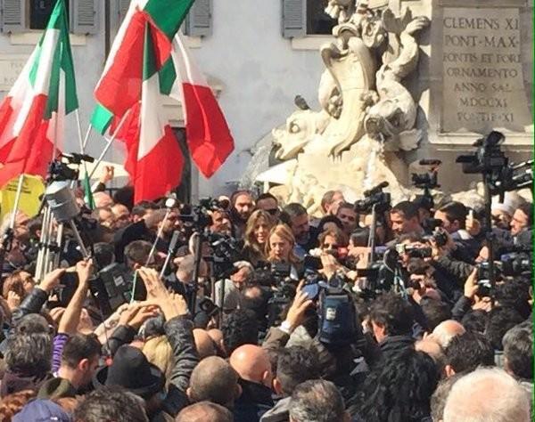 Elezioni Roma, Giorgia Meloni annuncia la candidatura