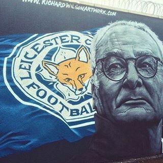 Un murales dedicato in UK a Claudio Ranieri