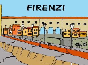 Il disastro a Firenze visto da Alfio Krancic