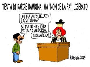 I controsensi della giustizia italiana visti da Krancic