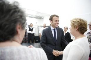 Emmanuel Macron, da fb